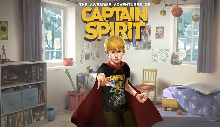 Captain Spirit, Life is Strange, Square Enix, gratis, Dontnod, The Awesome Adventures of Captain Spirit,  Chris, Basketball, Alkoholiker, Karte, Superheld