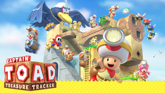 Captain Toad, Toadette, Wii U, Switch, 3DS, Nintendo, Wingo, Shy Guy, Toad Brigade, Gumba, Boo, Sterne, Monde, Mario, Odyssey, Prolog