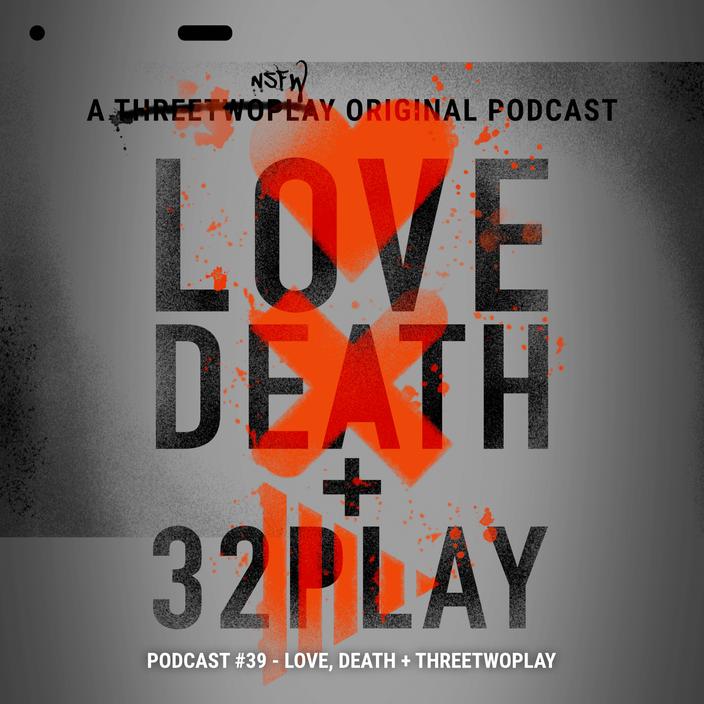 Cover zur Podcastfolge über Love, Death & Robots auf Netflix