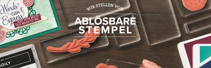 Ablösbare Stempel von Stampin'Up!, erhältlich ab Januar 2019