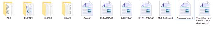 La cave aux vieux scripts de projets, vous allez certainement reconnaitre 3 noms sur les 11 autres....