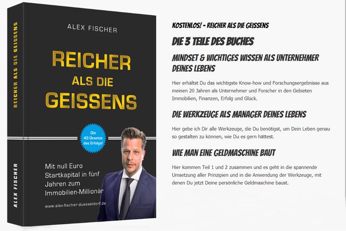 Alex Fischer Reicher als die Geissens bei Kerstin Mais