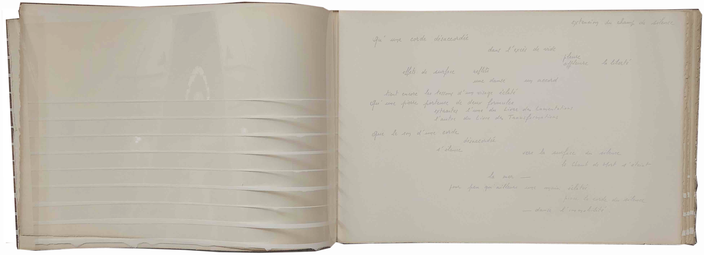 Degottex & Maurice Benhamou: Affleurement du Chant,Guy Schraenen éditeur  1976