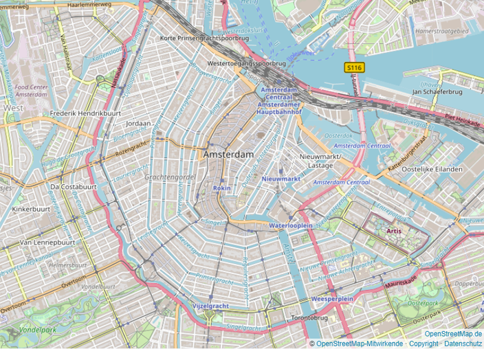 Amsterdam Zentrum
