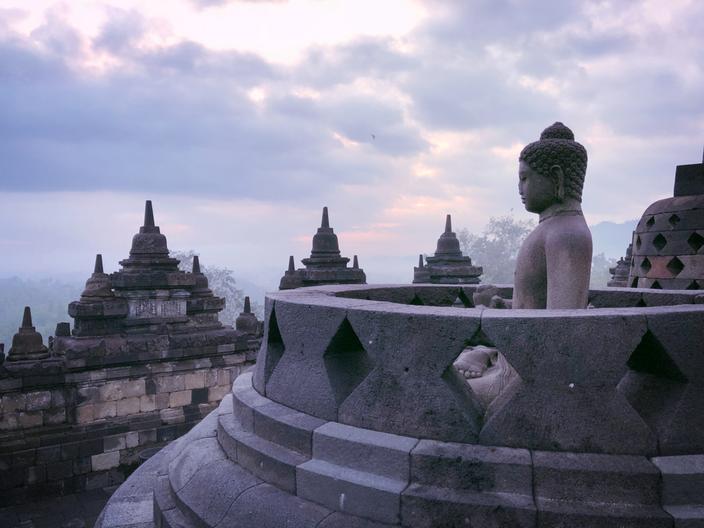 The Borobudur Temple