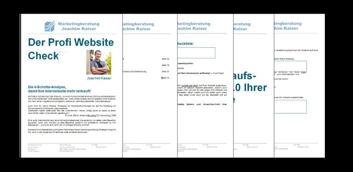Die Website Beratung Checkliste