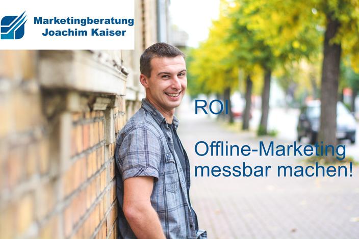 ROI Marketing messbar machen