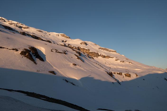 Chammliberg, SW-Flanke, Südwest Flanke, Klausenpass, Schärhorn, Clariden, Chammlilücke Skitour, Urnerland Urner Alpen, Glarnerland, Glarner Alpen, Uri, Glarus