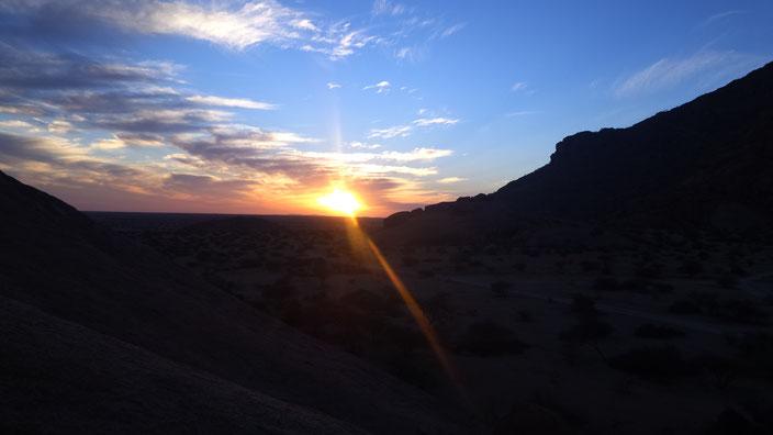 Mal wieder fahren bis zum Sonnenuntergang