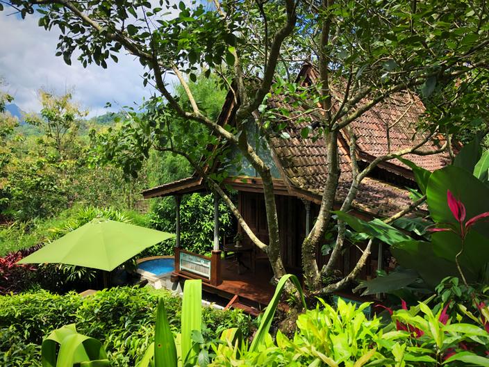 Meine balinesische Holzhütte