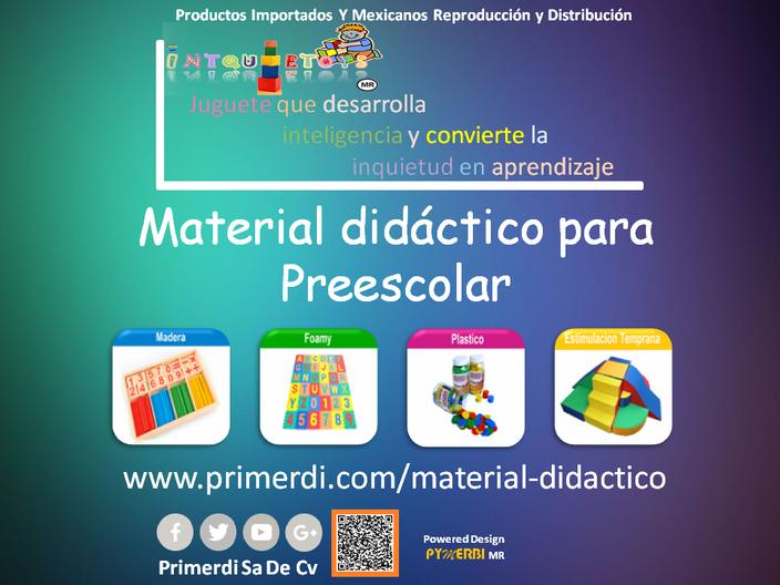 material didactico para niños de preescolar