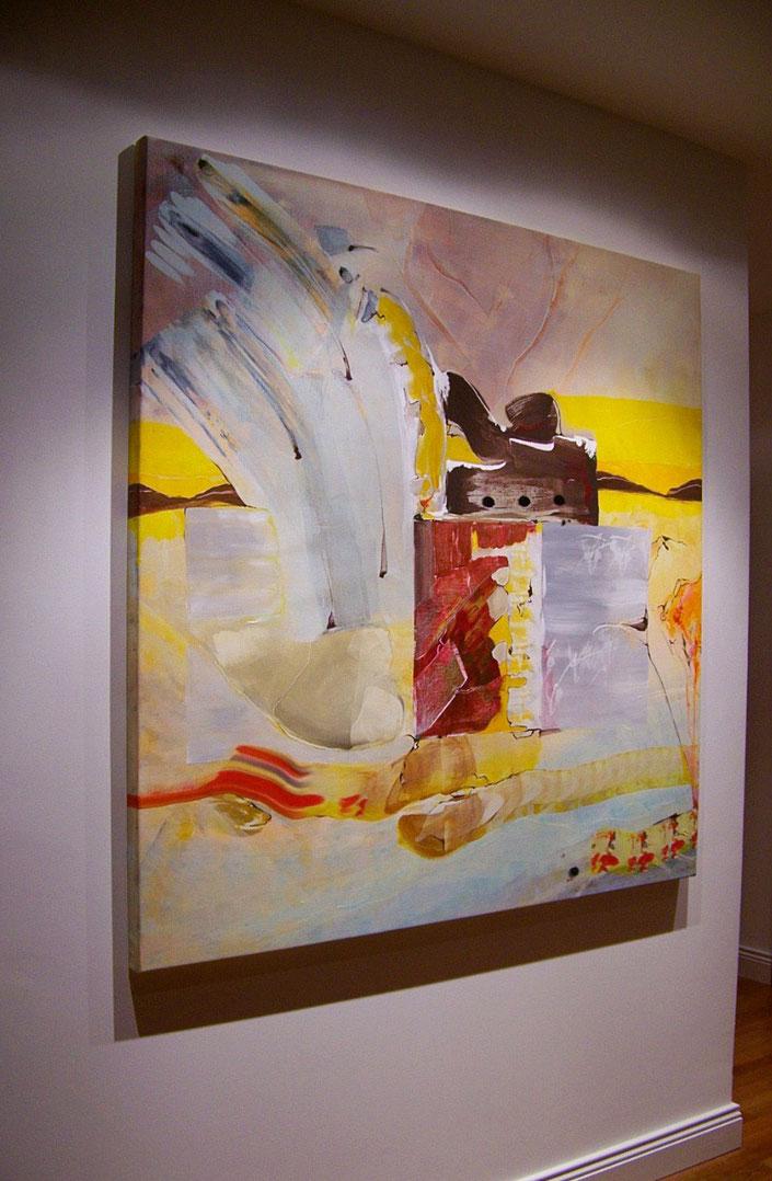 JÖRG, Acryl auf Leinwand 150x150cm