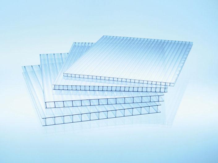 4 bis 10mm Doppelstegplatten