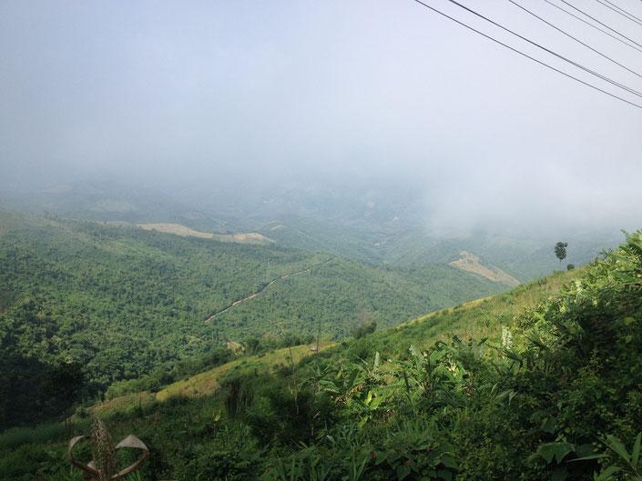 Aussicht Laos