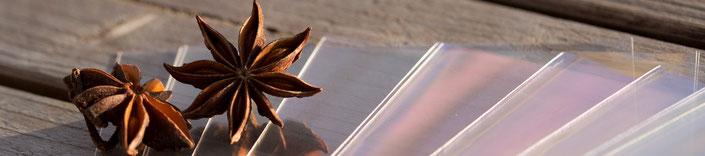 Cellophanhüllen für Karten, offen, C5 166 x 234 mm, von Artoz, Cellophanbeutel, Flachbeutel, Schutzhüllen für Karten