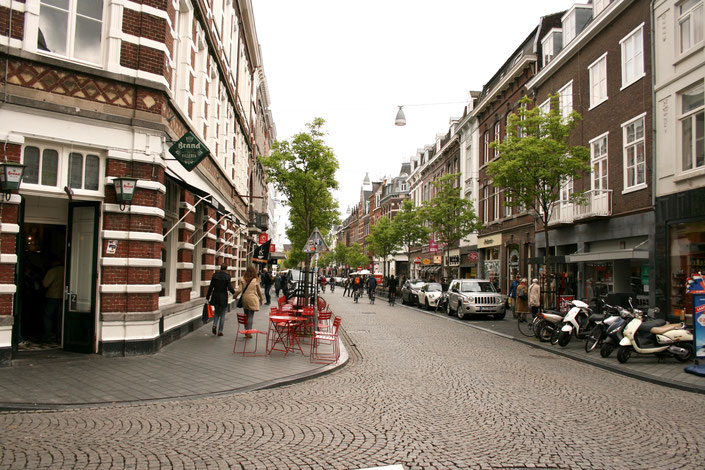 Maastricht Netherlands ofpenguinsandelephants shops street Rechtstraat