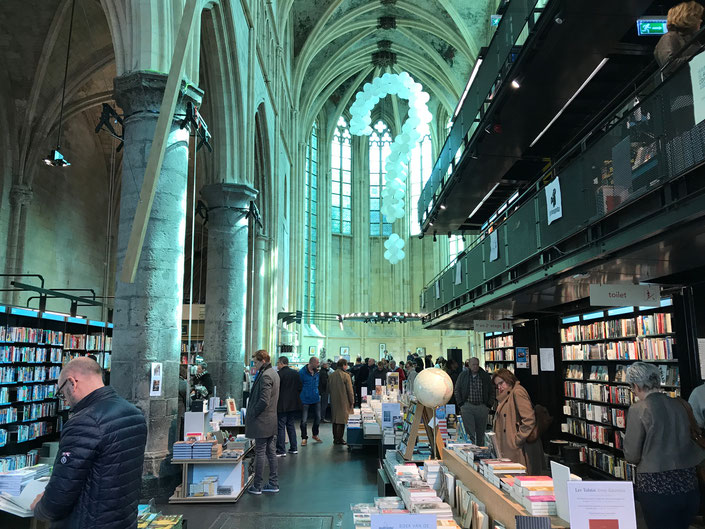 Maastricht Netherlands ofpenguinsandelephants Dominicanen bookstore church old