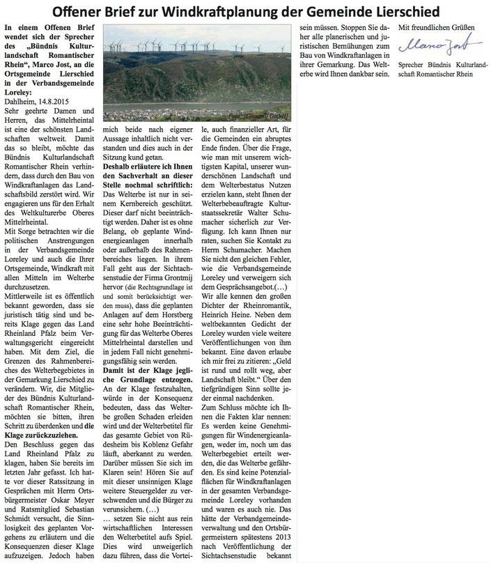 Rhein-Hunsrück-Anzeiger v. 19.08.2015 (Seite 11)
