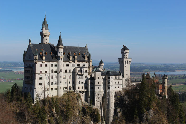 Schloss Neuschwanstein Tickets, 2 x Übernachtungen mit Frühstück und ein Bayerisches Abendmenü
