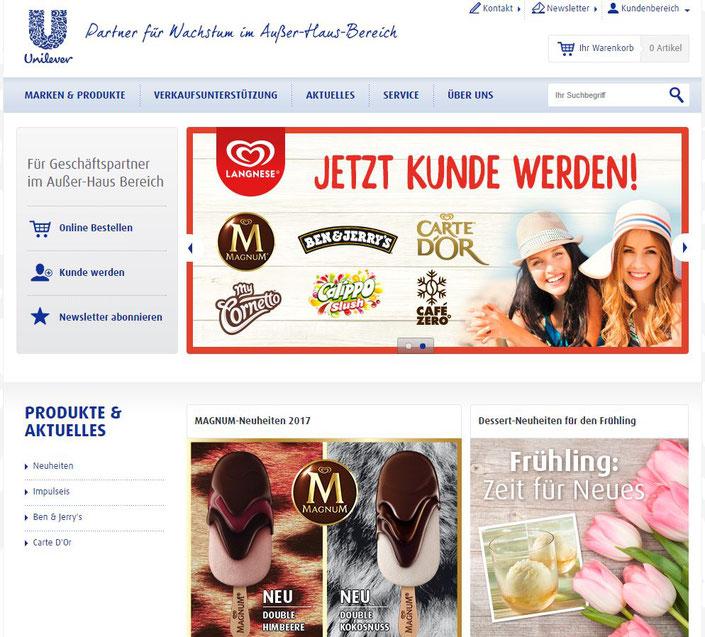 Homepage Schöller