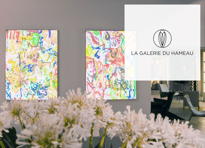 Florence Burt-Riley en exposition-vente au Hameau des Baux