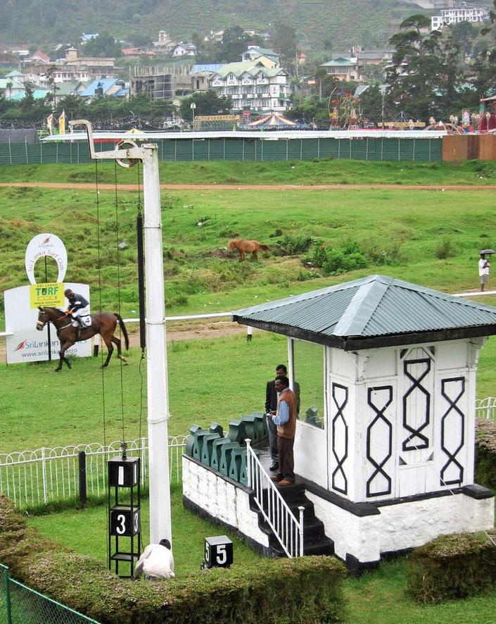 Horse Race track Nuwara Eliya Sri Lanka