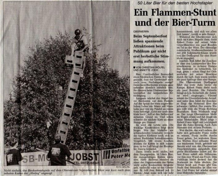 13.09.1999 Schweinfurter Tagblatt