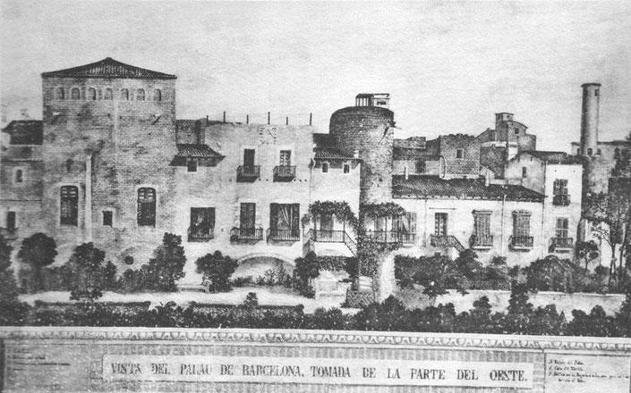 Малый королевский дворец в Барселоне