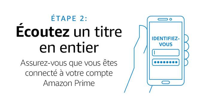 Recevez un code promotionnel de 3 euros sur Amazon jusqu'au 10 janvier 2019 pour cela : écouter un titre sur Prime Music pour la première fois. Le code vous sera envoyé d'ici le 17 janvier 2019 et pourra être utilisé jusqu'à la date du 31 janvier 2019.