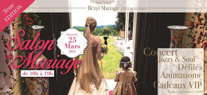 3ème Édition du Salon du Mariage du Château de Bézyl