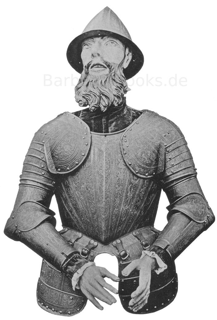 Prunkrüstung aus der zweiten Hälfte des 16. Jahrhunderts
