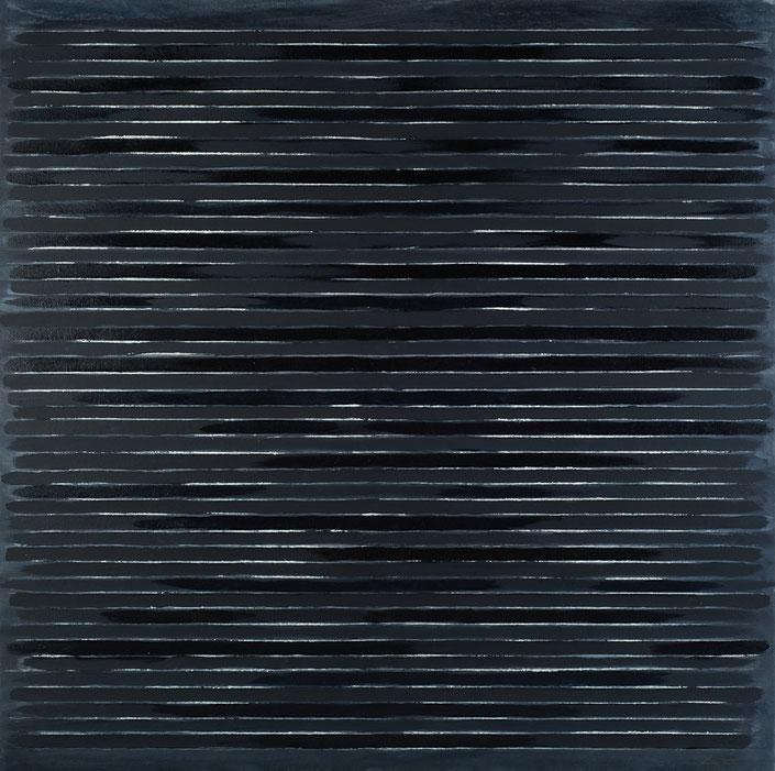 abstraktes Bild · Wasser · Blau · Dunkelblau · Spiegelung · Leinwand · Patrick Öxler · Wiede Fabrik · Atelier