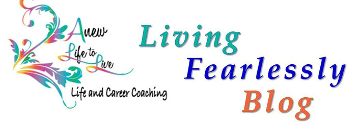 Living Fearlessly Blog and logo image