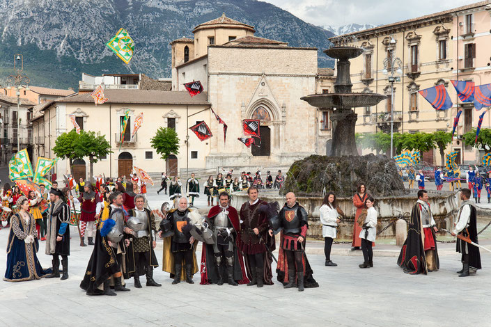 Giostra Cavalleresca, Sulmona. I capitani
