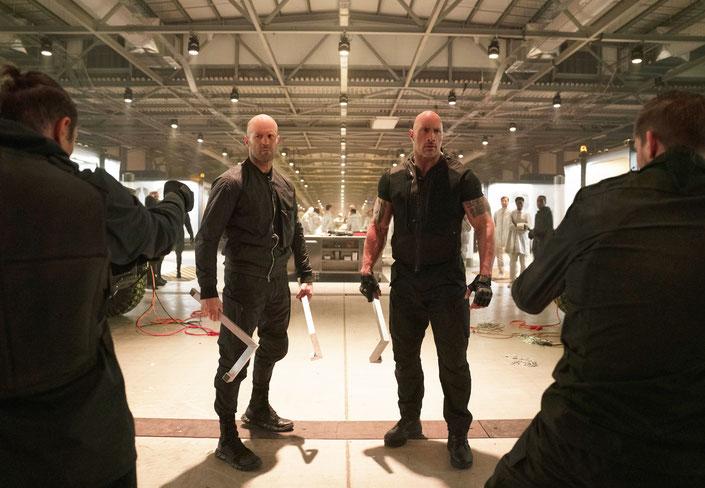 Deckard Shaw und Luke Hobbs auf der Jagd nach Brixton.