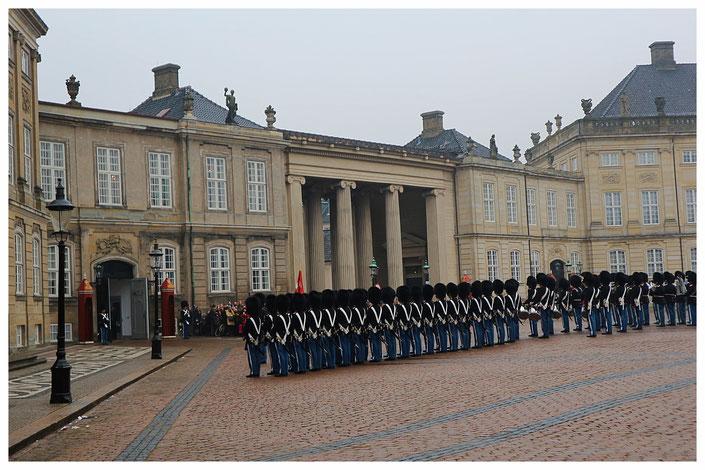 Schloss Amalienburg Kopenhagen Sightseeing Dänemark