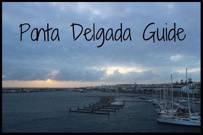 Der Hafen von Ponta Delgada