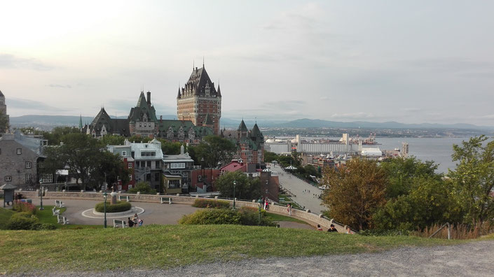 Chateau Frontenac, Quebec, St. Lawrence Strom, Quebec City Kanada
