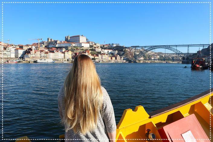 Blick auf Portos Altstadt
