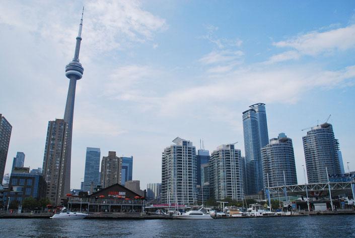 Skytower Toronto Skyline Kanada