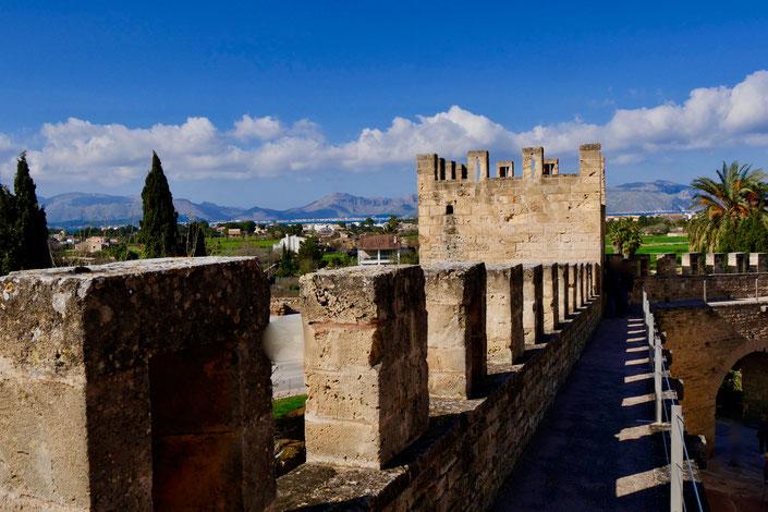 Stadtmauer von Alcudia Mallorca