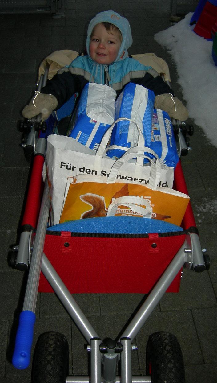 ulfBo - ein Transportwunder - der faltbare Bollerwagen made in Germany