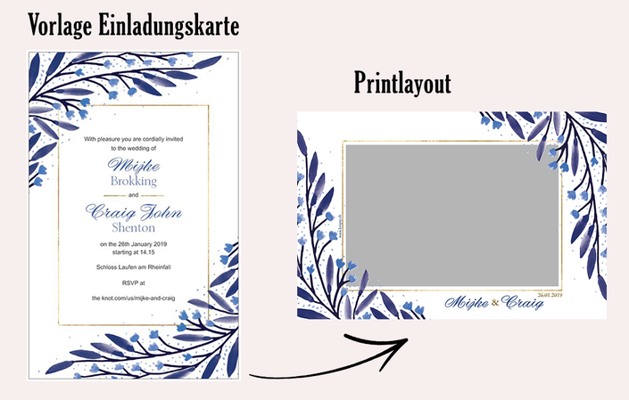 Printlayout Fotobox