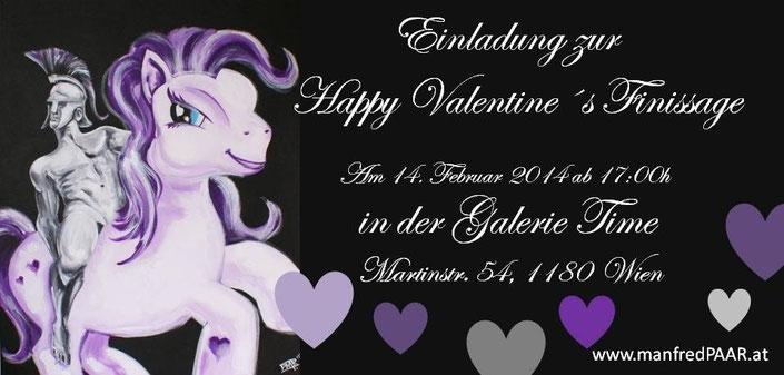 Galerie Time Manfred Paar Pure Masculinity Günther Wachtl Männerbilder Finissage Prosecco Valentinstag