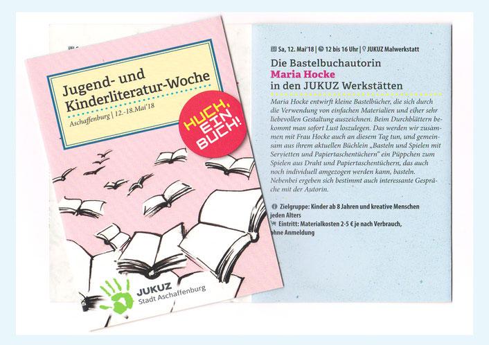 Einladung zur Jugend- und Kinderliteratur-Woche in Aschaffenburg