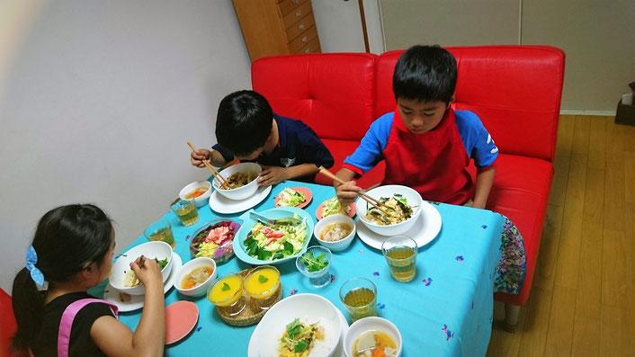 家庭料理 子ども料理教室 エムズレッスン