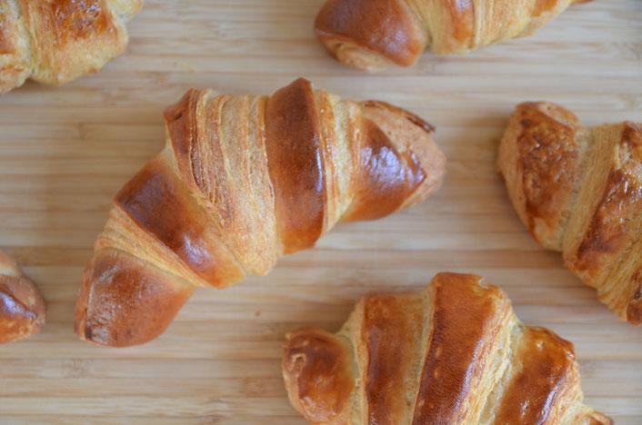 Croissant wie in Frankreich selber machen