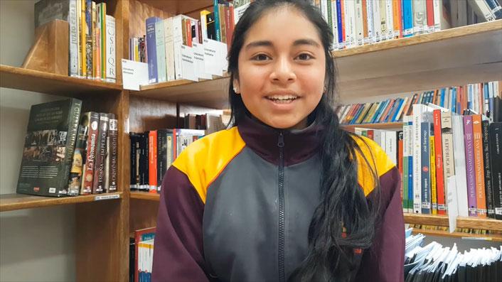 Wir lassen auch eine Schülerin der Schule von Diospi Suyana zu Wort kommen.