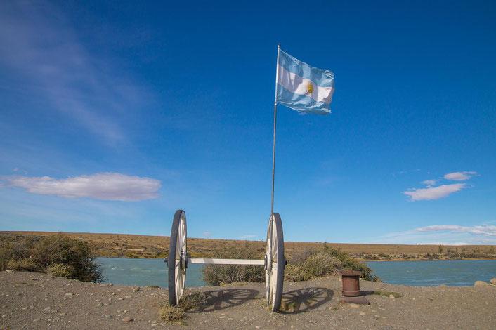 Manuel Belgrano soll sich für die argentinische Flagge am Himmel orientiert haben.