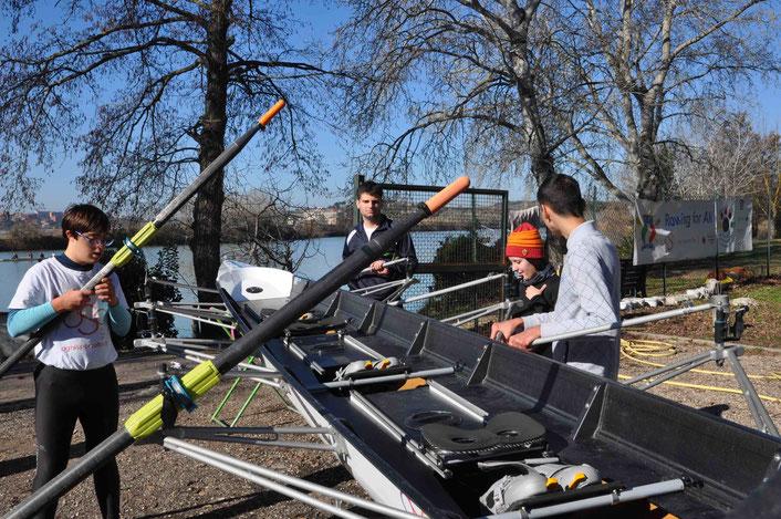 controllo barca canottieri rumon
